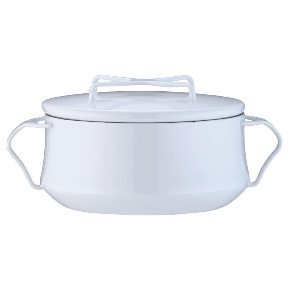 ダンスク コベンスタイル 両手鍋 2QT ホワイト [ 内径:185mm深さ:85mm底径:130mm2.2L ] [ 料理道具 ]   キッチン 台所 料理 おしゃれ かわいい 自宅用 贈り物