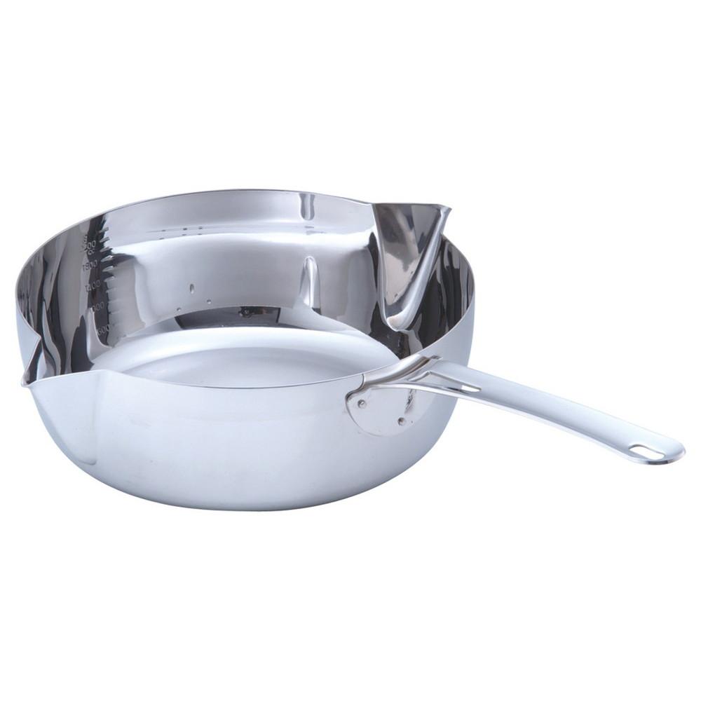 MA共柄 デンジ 両カラス口パン 22cm [ 深さ:80mm底径:160mm2.8L ] [ 料理道具 ] | 厨房 キッチン 台所 飲食店 レストラン 業務用