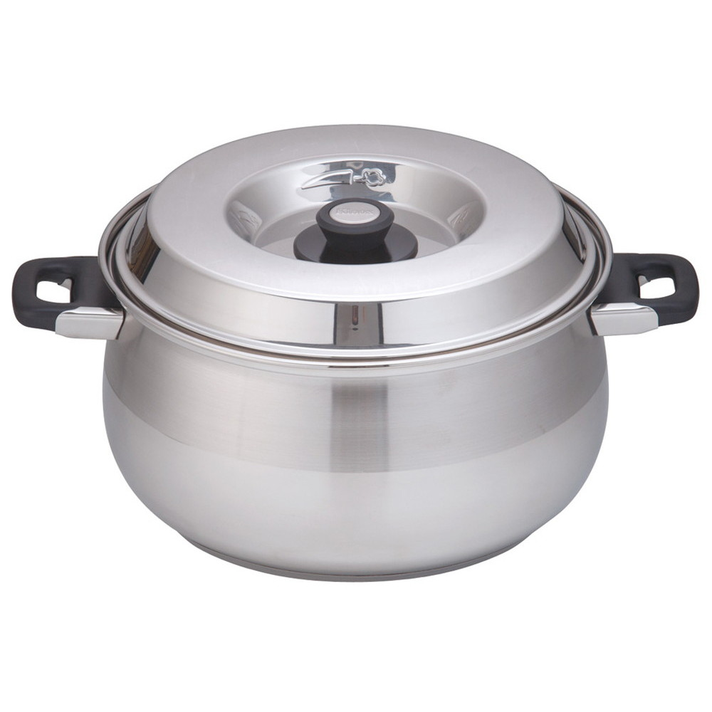 kinox(キノックス) 18-10 8080 キャセロール 8080/32 32cm [ 外径:350mm深さ:184mm底径:285mm13L ] [ 料理道具 ] | 厨房 飲食店 レストラン ホテル 業務用