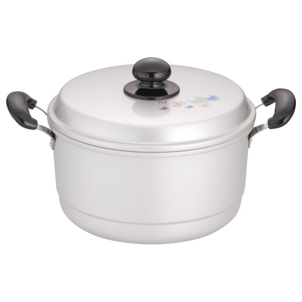 アルマイト エシャロット 兼用鍋 24cm [ 外径:254mm深さ:133mm5.7L ] [ 料理道具 ]   厨房 キッチン 台所 飲食店 レストラン 業務用