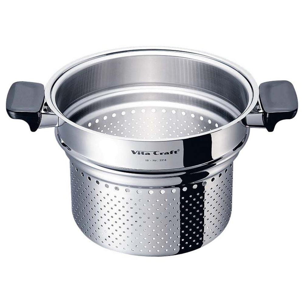 ビタクラフト専用パスタパン No.3318 [ 直径:210 x 深さ:175mm質量:0.93kg ] [ 料理道具 ] | キッチン 台所 料理 厨房 飲食店 自宅用 業務用
