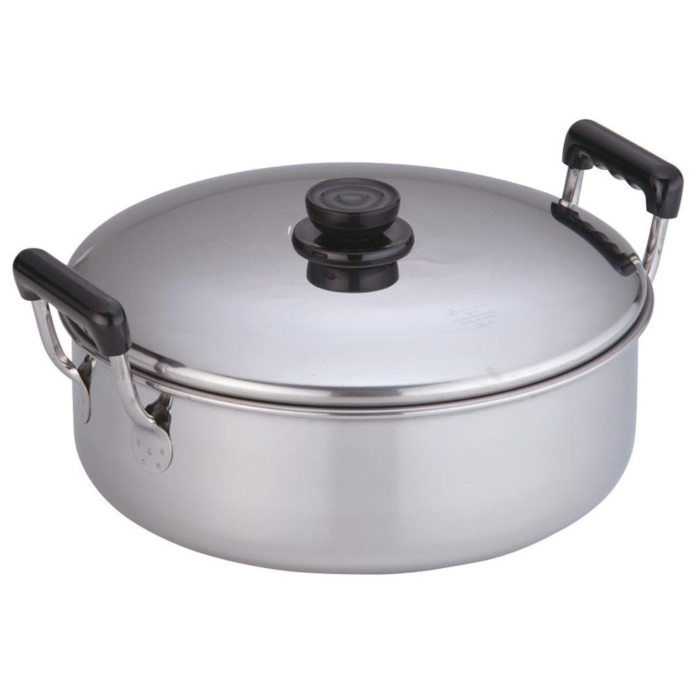 18-0浅型ソースポット 26cm [ 深さ:95mm底径:225mm4.8L ] [ 料理道具 ] | 厨房 キッチン 台所 飲食店 レストラン 業務用