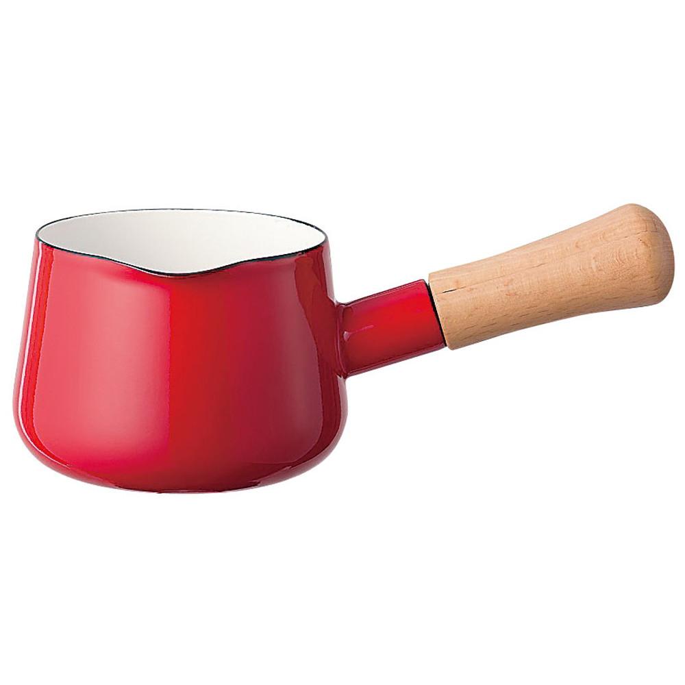 ソリッド ミルクパン 12cm SD-12M・R 赤 [ 内径:120mm深さ:82mm0.75L ] [ 料理道具 ] | キッチン 台所 料理 おしゃれ かわいい 自宅用 贈り物