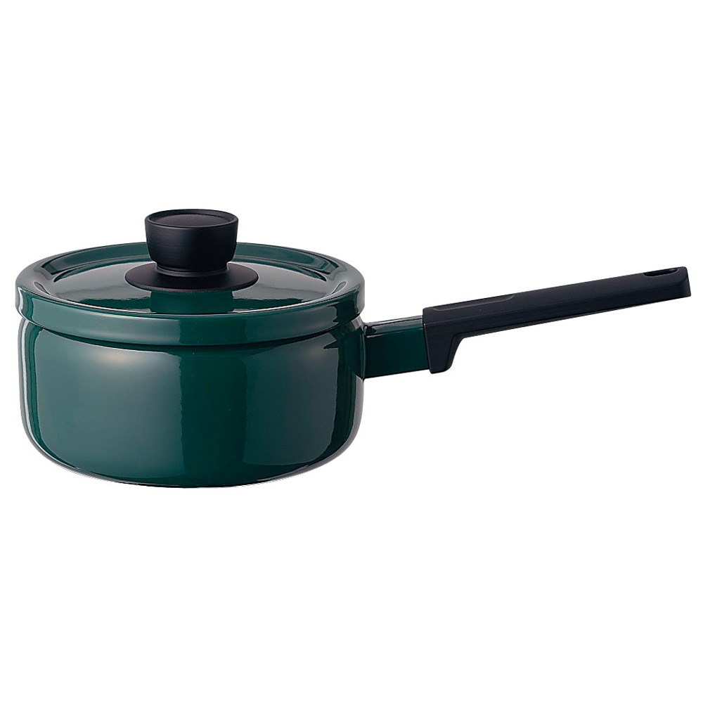 ソリッド ソースパン 18cm SD-18S・G 緑 [ 内径:180mm深さ:91mm底径:150mm2.2L ] [ 料理道具 ] | キッチン 台所 料理 おしゃれ かわいい 自宅用 贈り物