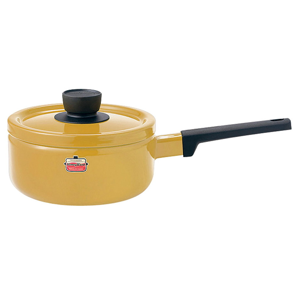 ソリッド ソースパン 18cm SD-18S・M マスタード [ 内径:180mm深さ:91mm底径:150mm2.2L ] [ 料理道具 ]   キッチン 台所 料理 おしゃれ かわいい 自宅用 贈り物