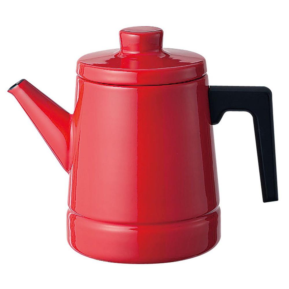 ソリッド コーヒーポット 1.6L SD-1.6CP・R 赤 [ 外径:135 x H 190mm底径:120mm ] [ 料理道具 ] | キッチン 台所 料理 おしゃれ かわいい 自宅用 贈り物