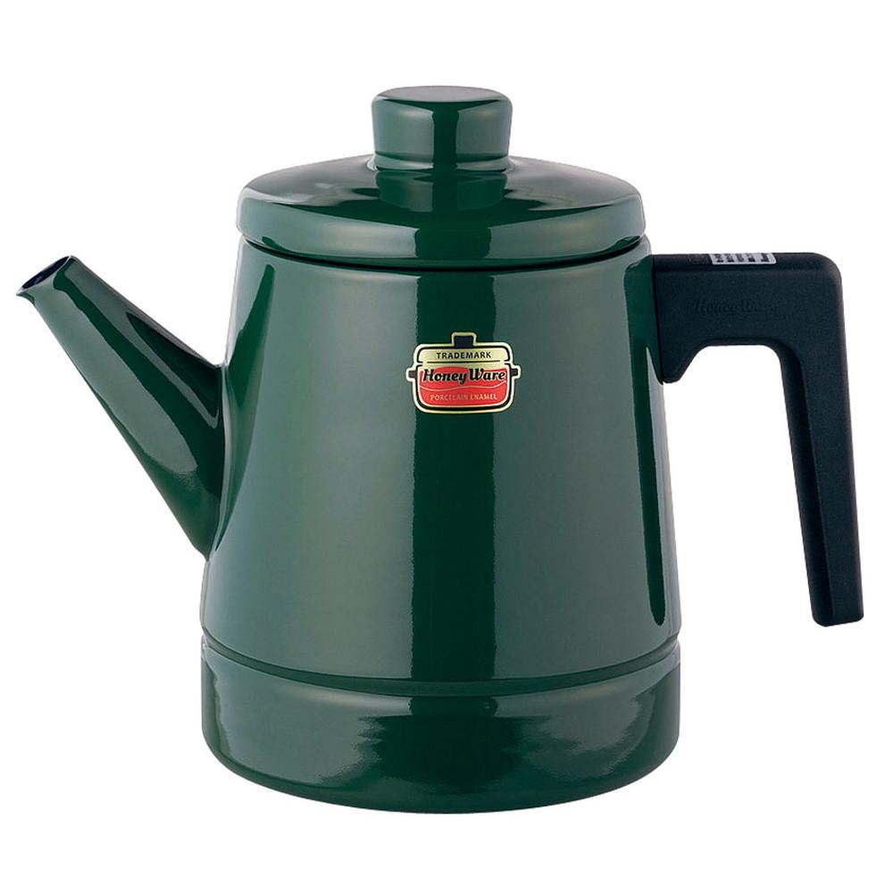 ソリッド コーヒーポット 1.6L SD-1.6CP・G 緑 [ 外径:135 x H 190mm底径:120mm ] [ 料理道具 ] | キッチン 台所 料理 おしゃれ かわいい 自宅用 贈り物