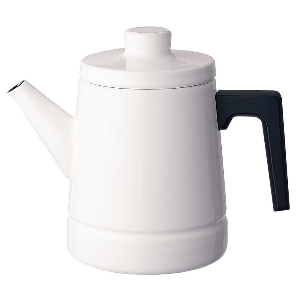ソリッド コーヒーポット 1.6L SD-1.6CP・W 白 [ 外径:135 x H 190mm底径:120mm ] [ 料理道具 ] | キッチン 台所 料理 おしゃれ かわいい 自宅用 贈り物