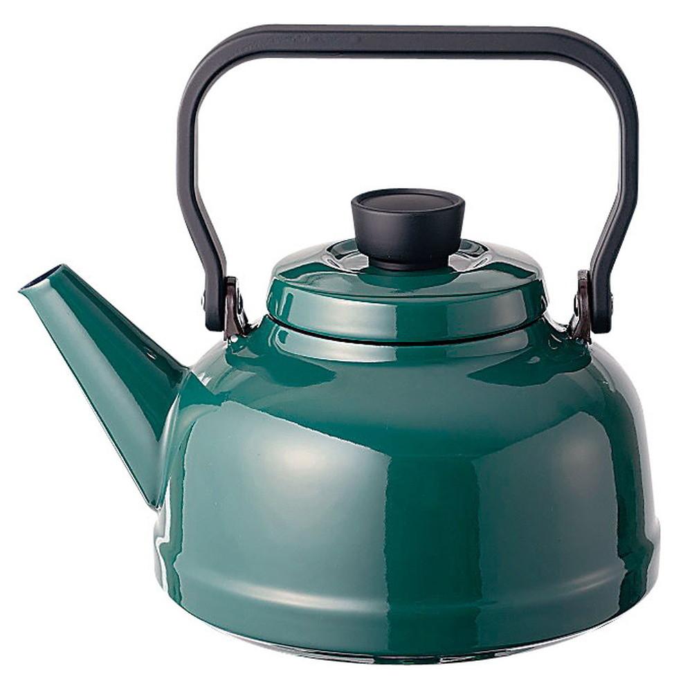ソリッド ケトル 2.3L SD-2.3K・G 緑 [ 外径:185mm口径:95mmH160mm底径:150mm ] [ 料理道具 ] | キッチン 台所 料理 おしゃれ かわいい 自宅用 贈り物