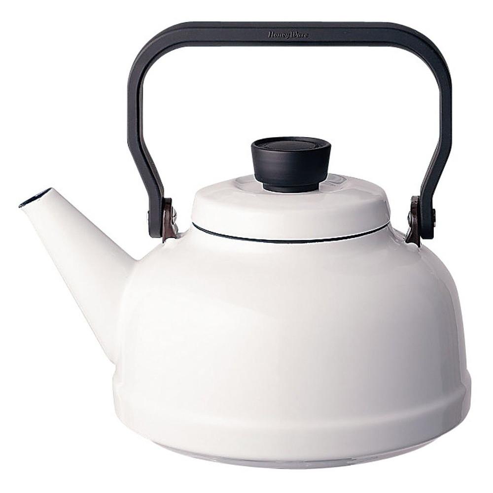 ソリッド ケトル 2.3L SD-2.3K・W 白 [ 外径:185mm口径:95mmH160mm底径:150mm ] [ 料理道具 ] | キッチン 台所 料理 おしゃれ かわいい 自宅用 贈り物