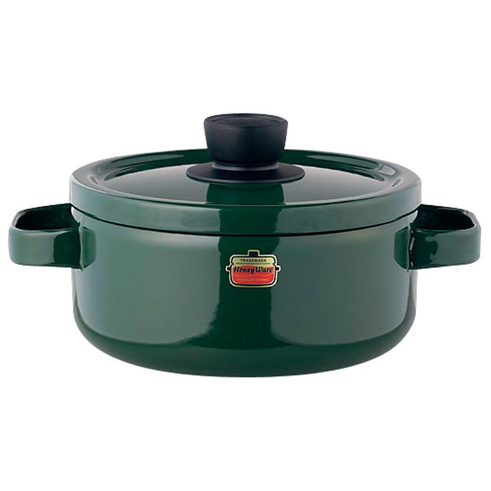 ソリッド キャセロール 18cm SD-18W・G 緑 [ 内径:180mm深さ:89mm底径:150mm2.2L ] [ 料理道具 ] | キッチン 台所 料理 おしゃれ かわいい 自宅用 贈り物