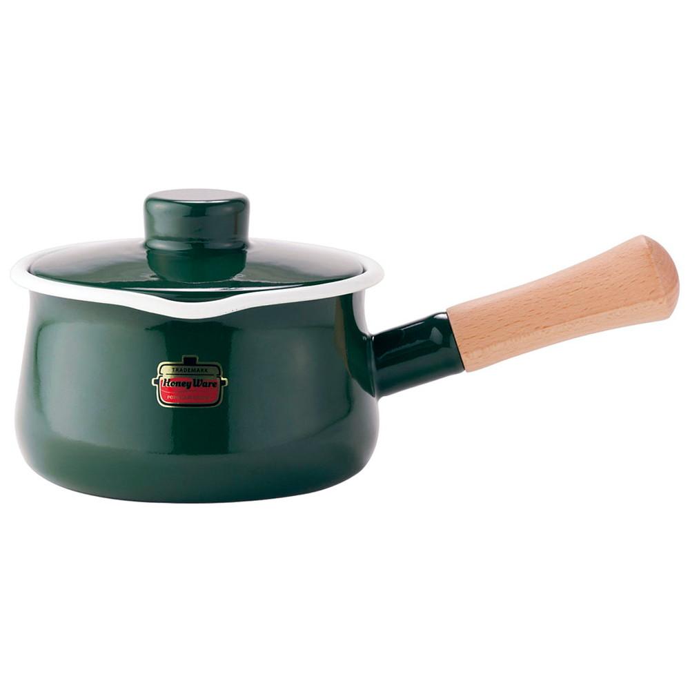 ソリッド ミルクパン 15cm SD-15M・G 緑 [ 内径:150mm深さ:84mm底径:125mm1.2L ] [ 料理道具 ] | キッチン 台所 料理 おしゃれ かわいい 自宅用 贈り物