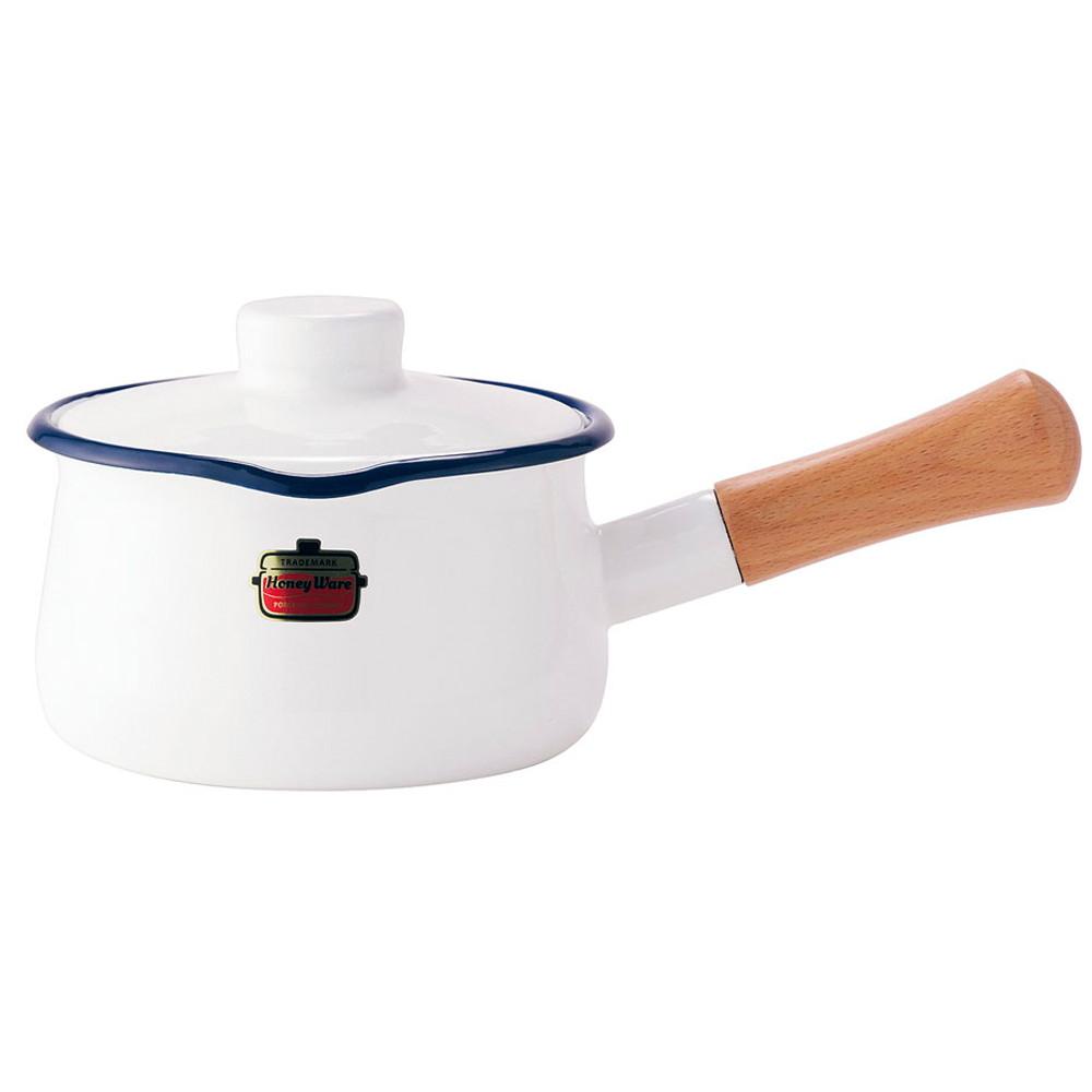 ソリッド ミルクパン 15cm SD-15M・W 白 [ 内径:150mm深さ:84mm底径:125mm1.2L ] [ 料理道具 ] | キッチン 台所 料理 おしゃれ かわいい 自宅用 贈り物