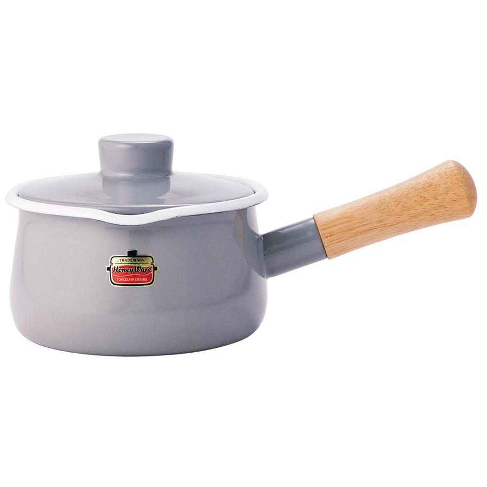 ソリッド ミルクパン 15cm SD-15M・LGライトグレー [ 内径:150mm深さ:84mm底径:125mm1.2L ] [ 料理道具 ] | キッチン 台所 料理 おしゃれ かわいい 自宅用 贈り物
