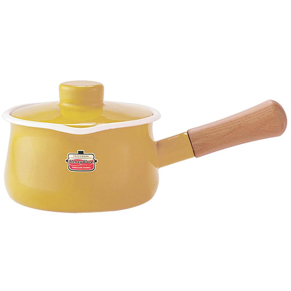ソリッド ミルクパン 15cm SD-15M・M マスタード [ 内径:150mm深さ:84mm底径:125mm1.2L ] [ 料理道具 ] | キッチン 台所 料理 おしゃれ かわいい 自宅用 贈り物