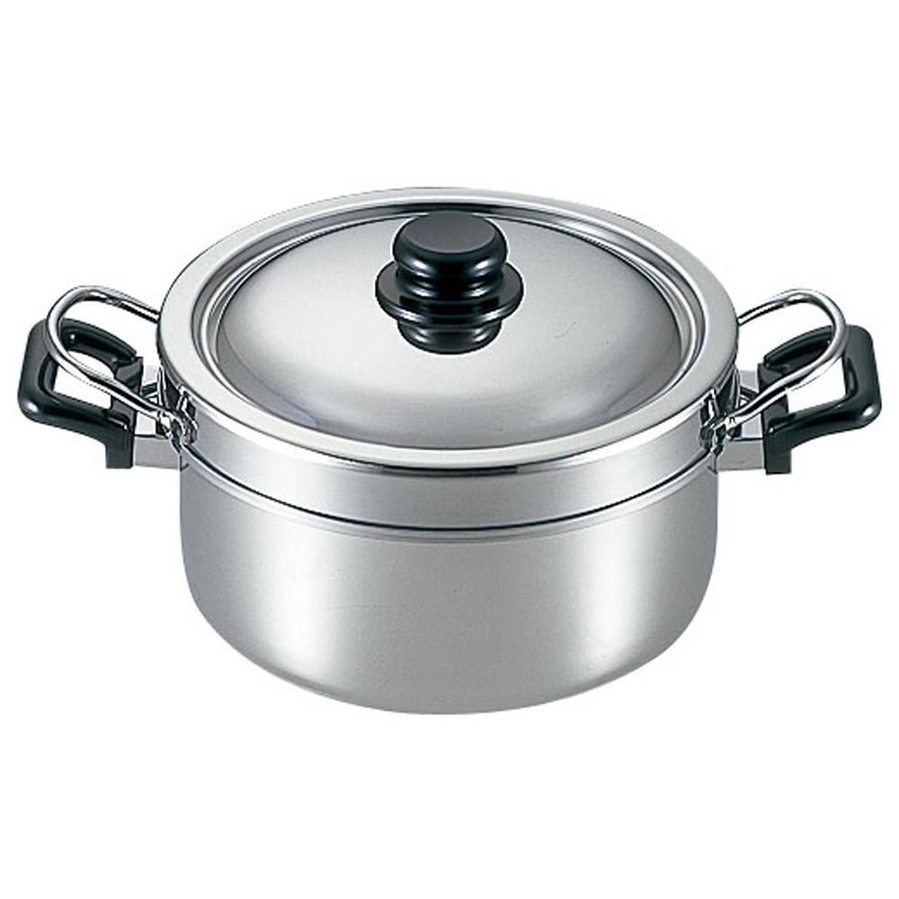 ニューグッドベンリー 余熱調理鍋 18cm [ (内鍋)内径:180 x 深さ:102 x 底径:155mm2.5L(外鍋)内径:200 x 深さ:122 x 底径:160mm3.7L ] [ 料理道具 ] | キッチン 厨房 台所 時短 自宅用 業務用