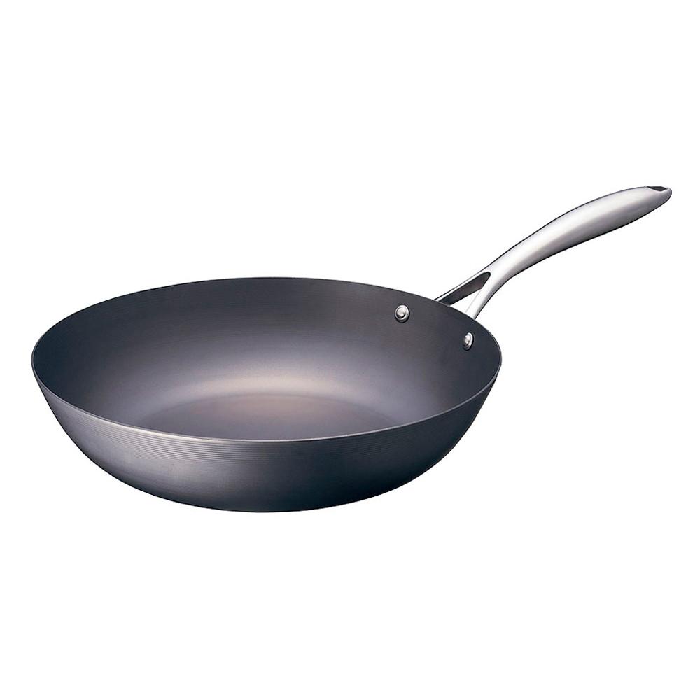 ビタクラフト スーパー鉄ウォックパン 22cm [ 外径:220mm深さ:65mm底径:140mm ] [ 料理道具 ]   キッチン 台所 料理 厨房 飲食店 自宅用 業務用