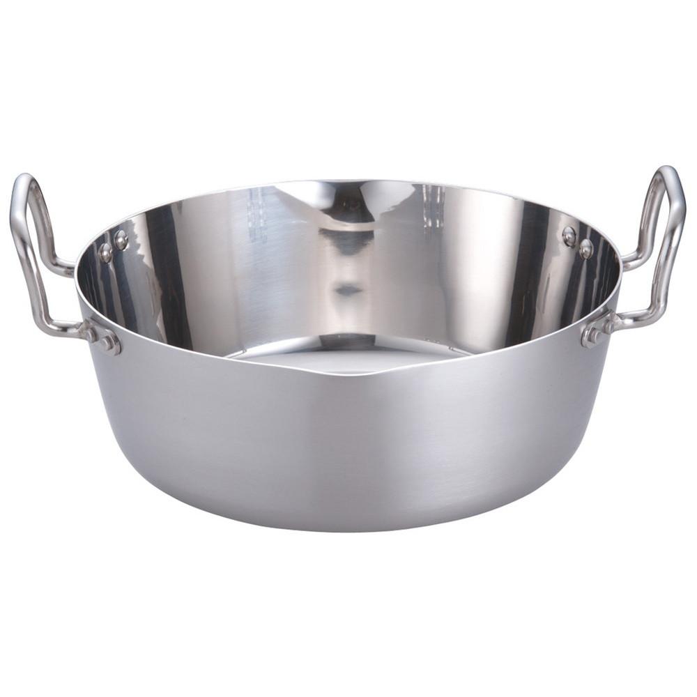 クラッド鋼 両手雪平鍋 33cm [ H120mm底径:230mm8.7L ] [ 料理道具 ] | 厨房 食堂 和食 ホテル キッチン 飲食店 業務用