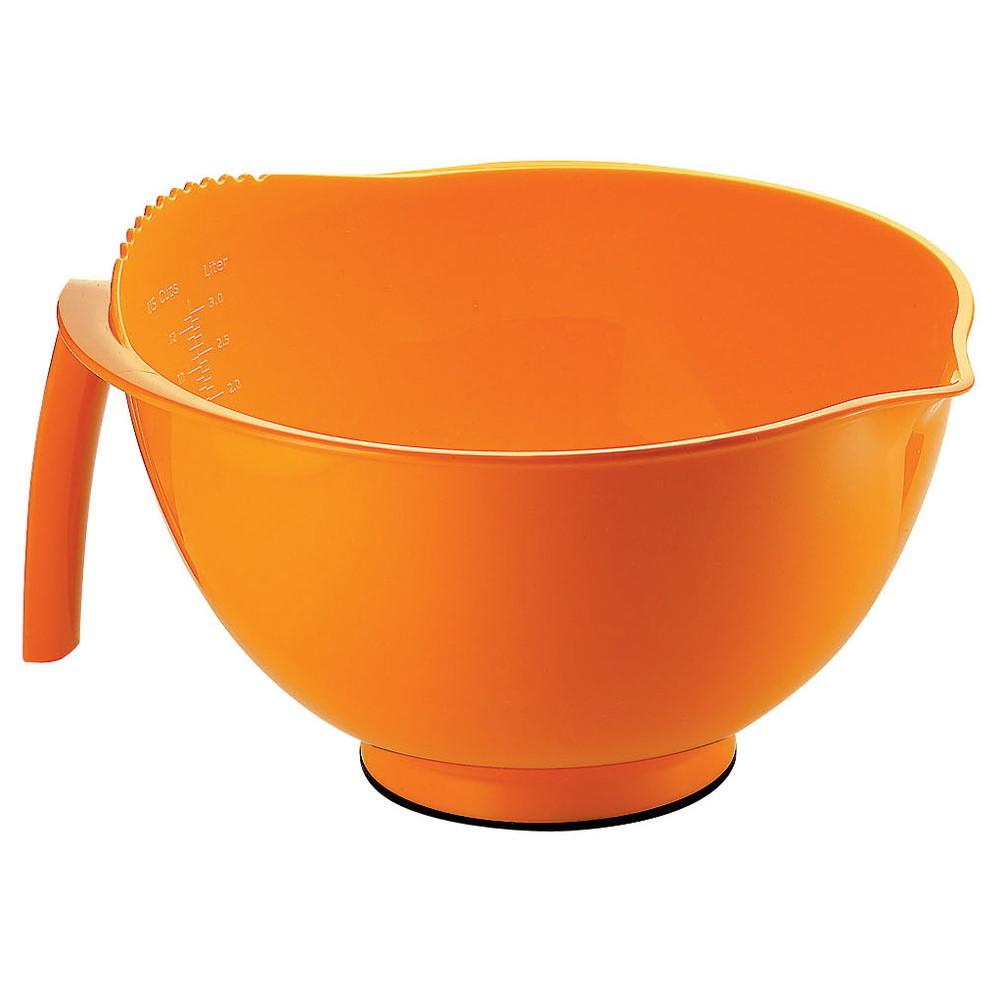 グッチーニ ミキシングボウル 2729.0083 オレンジ [ 外径:245 x H155 3000cc ] [ 料理道具 ] | キッチン 台所 飲食店 おしゃれ かわいい 自宅用 贈り物