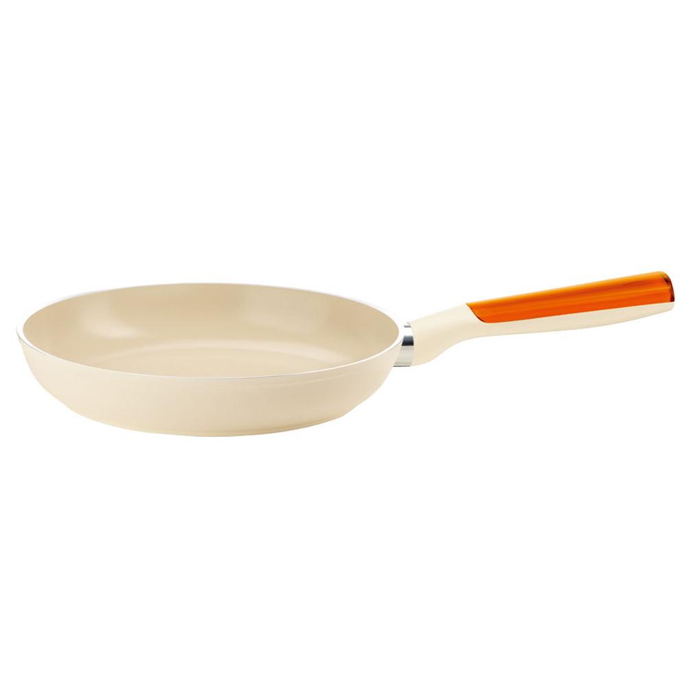 厨房でも耐えうる確かな製品には、強固さと使い勝手を兼ね備えた逸品です。キッチン 台所 飲食店 おしゃれ かわいい 自宅用 贈り物 グッチーニIHセラミックコートフライパン 20cm2278 オレンジ [ 外径:210mm深さ:43mm底径:140mm1L ] [ 料理道具 ] | キッチン 台所 飲食店 おしゃれ かわいい 自宅用 贈り物