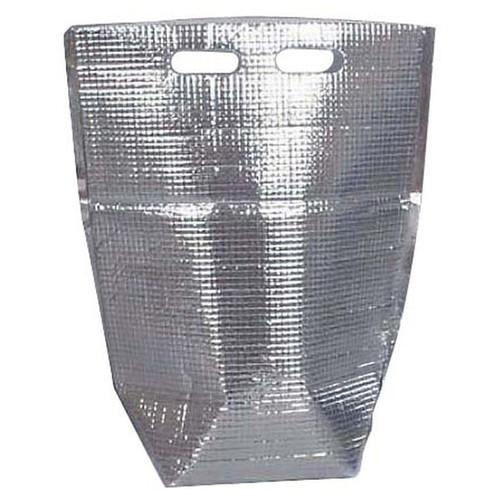 保冷・保温袋 アルバック 自立式袋 (50枚入) LLサイズ [ 間口:365mm H475mm マチ幅140mm ] [ 保冷保温用品 ] | 飲食店 キャンプ レジャー イベント 業務用