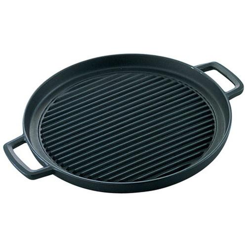 IK グリルプレート 丸型 [ 直径:290 x H25mm 質量:3.1kg ] [ 料理道具 ] | 厨房 キッチン 飲食店 ホテル レストラン 業務用