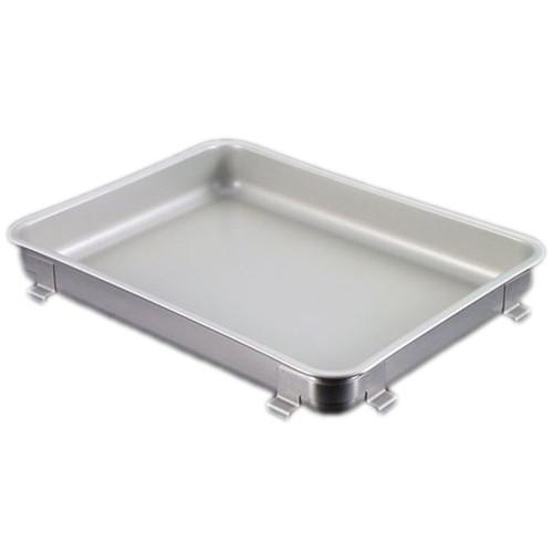 IKD18-8抗菌フッ素加工生鮮バット 10枚取 [ 間口:350 x 奥行:265 x H45mm ] [ 料理道具 ] | 厨房 飲食店 給食 社食 レストラン 業務用
