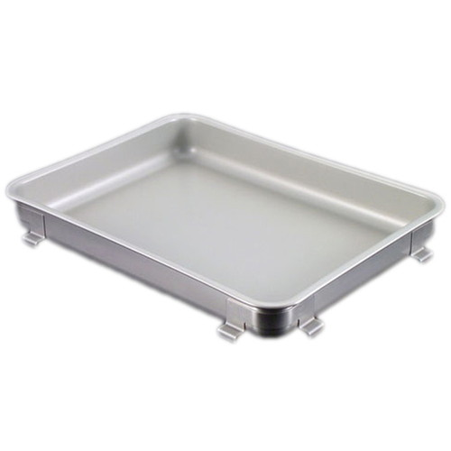 IKD18-8抗菌フッ素加工生鮮バット 8枚取 [ 間口:405 x 奥行:295 x H45mm ] [ 料理道具 ] | 厨房 飲食店 給食 社食 レストラン 業務用