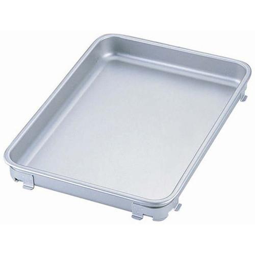 IKDアルマイトタイプ餃子&生鮮バット 6枚取 [ 間口:480 x 奥行:340 x H45mm ] [ 料理道具 ] | 厨房 飲食店 給食 社食 レストラン 業務用