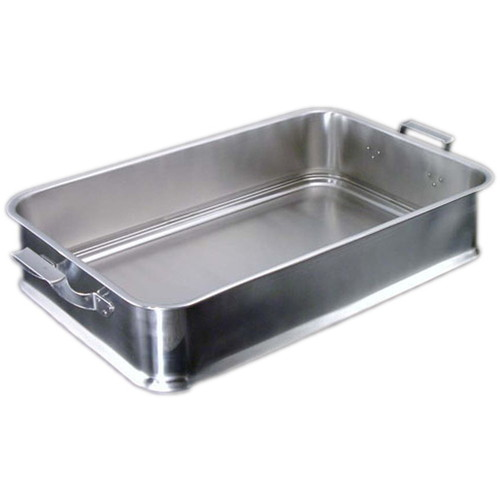 IKD18-8抗菌給食バット 24インチ 手付 [ 間口:610 x 奥行:380 x H130mm ] [ 料理道具 ] | 厨房 飲食店 給食 社食 レストラン 業務用