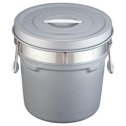 段付二重食缶(内外超硬質ハードコート) 250-H(16L) [ 外径:320 x H317mm 16L ] [ 給食道具 ] | 給食 社食 配膳 飲食店 厨房 レストラン 業務用