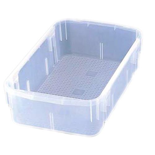 食器ポリテナー 深型 SY-48 クリアー [ 幅:670 x 奥行:420 x H180mm ] [ 料理道具 ] | 飲食店 レストラン ベーカリー 厨房 業務用