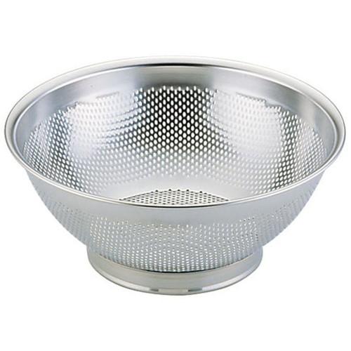 エコクリーン18-8パンチング水切りざる 21cm UK [ 外径:225 x H80mm ] [ 料理道具 ] | 飲食店 ホテル レストラン 和食 洋食 中華 キッチン 業務用