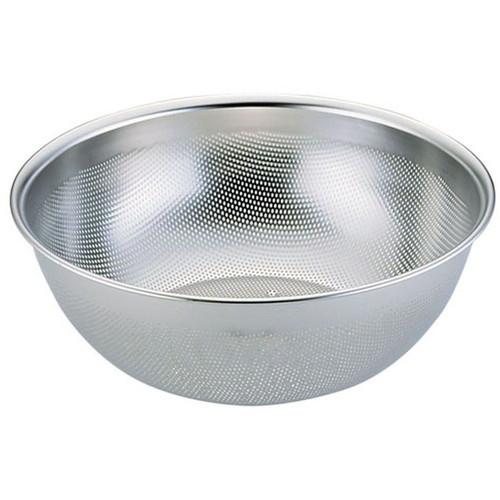 エコクリーンUK18-8深型パンチボール 24cm [ 外径:258 x H92mm ] [ 料理道具 ]   飲食店 ホテル レストラン 和食 洋食 中華 キッチン 業務用