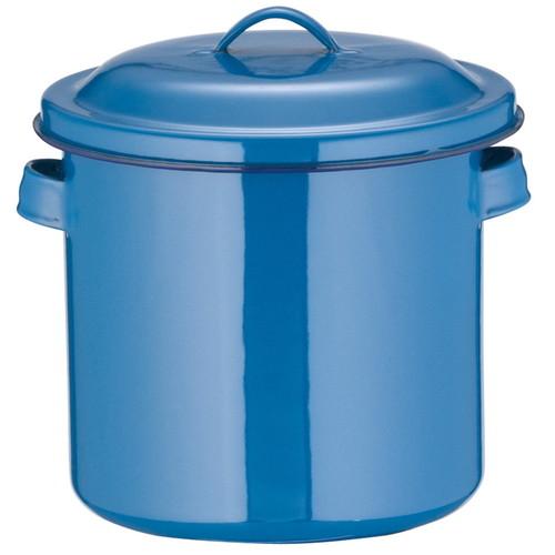 ホーローキッチンポット(手付) 16cm [ 内径:160 x 深さ:160mm 容量:3L ] [ 保存容器 ] | 飲食店 ホテル レストラン 厨房 社食 業務用