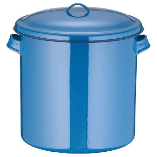 ホーローキッチンポット(手付) 27cm [ 内径:270 x 深さ:270mm 容量:15L ] [ 保存容器 ] | 飲食店 ホテル レストラン 厨房 社食 業務用