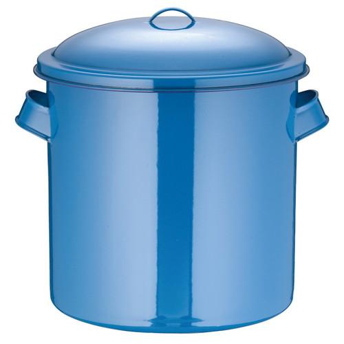 ホーローキッチンポット(手付) 40cm [ 内径:400 x 深さ:400mm 容量:50L ] [ 保存容器 ] | 飲食店 ホテル レストラン 厨房 社食 業務用