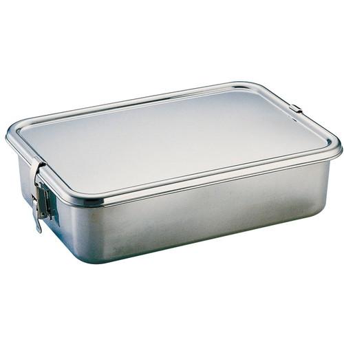 UK 18-8フードコンテナー 7号 [ 間口:330 x 奥行:230 x H85mm 容量:5.5cc ] [ 保存容器 ] | 給食 ホテル ケータリング キッチンカー 業務用