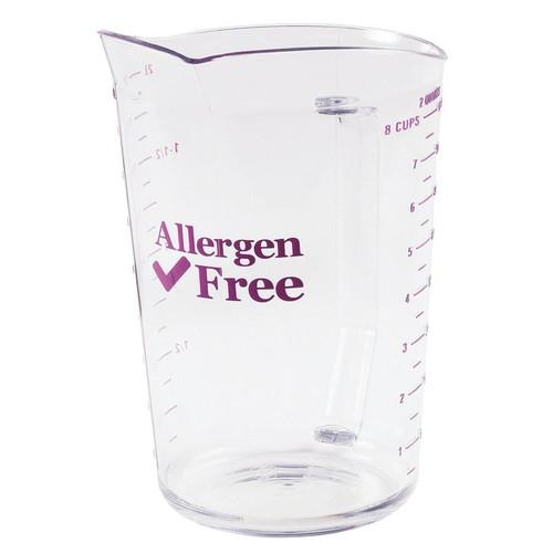 キャンブロアレルゲンフリーメジャーカップ 200MCCW441 [ 容量:2000cc ] [ 保存容器 ] | 給食 飲食店 厨房 アレルギー対応 業務用