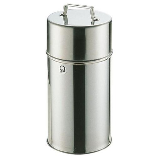 SA18-8 茶缶 16cm 6L [ (内寸)直径:160 x H300mm ] [ 保存容器 ] | 飲食店 キッチン 台所 業務用