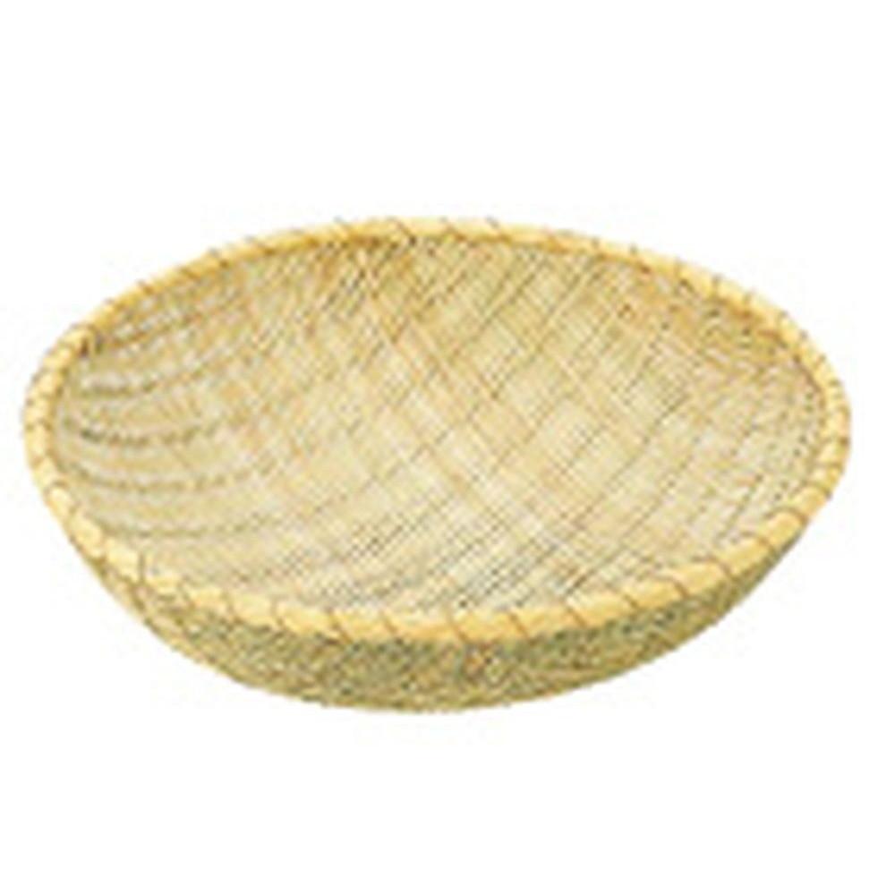 竹製 揚ざる 48cm(佐渡製) [ 内径:455 x H145mm ] [ 調理器具 ] | 厨房用品 飲食店 キッチン 料理道具 業務用