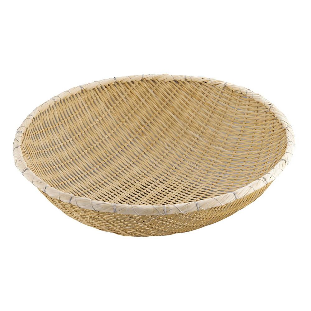 竹製藤巻揚ザル 54cm [ 外径:540 x 深さ:170mm ] [ 調理器具 ] | 厨房用品 飲食店 キッチン 料理道具 業務用