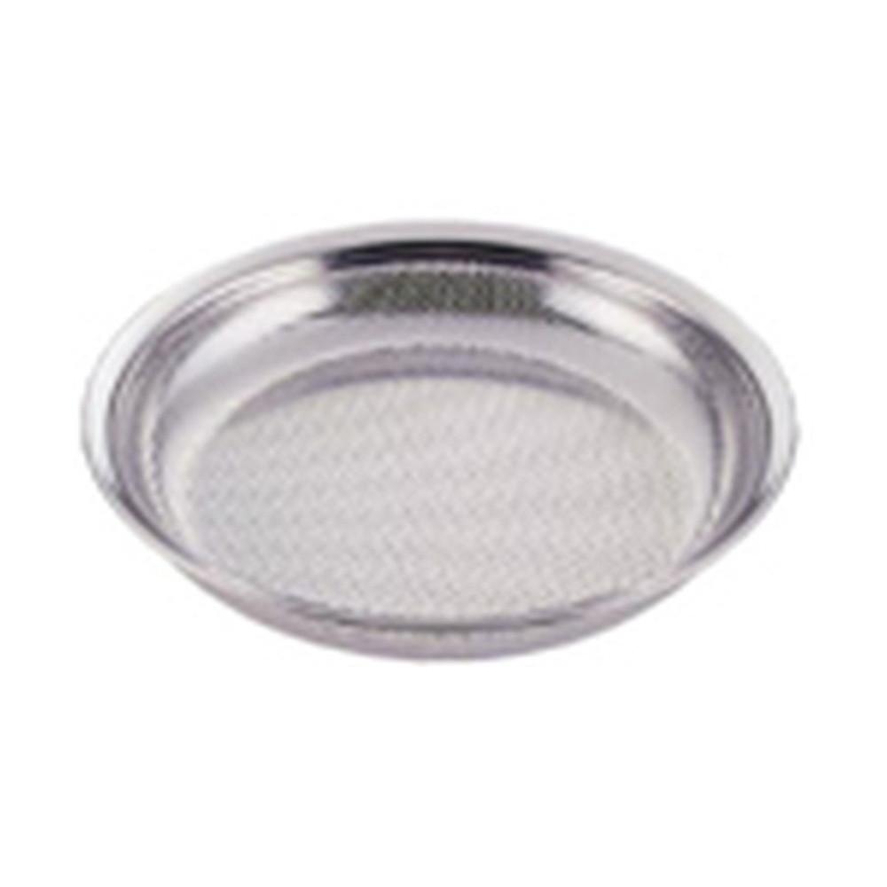 UK18-8パンチング盆ざるボール 27cm [ 外径:286 x 深さ:34mm ] [ 調理器具 ]   厨房用品 飲食店 キッチン 料理道具 業務用