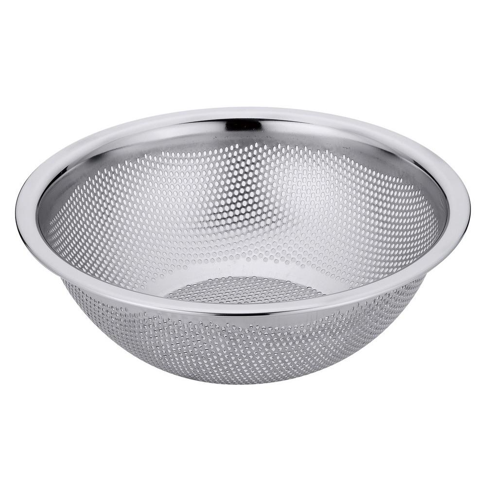 18-8 HACCP水切りボール 21cm [ 外径:240 x H85mm ] [ 調理器具 ] | 厨房用品 飲食店 キッチン 料理道具 業務用