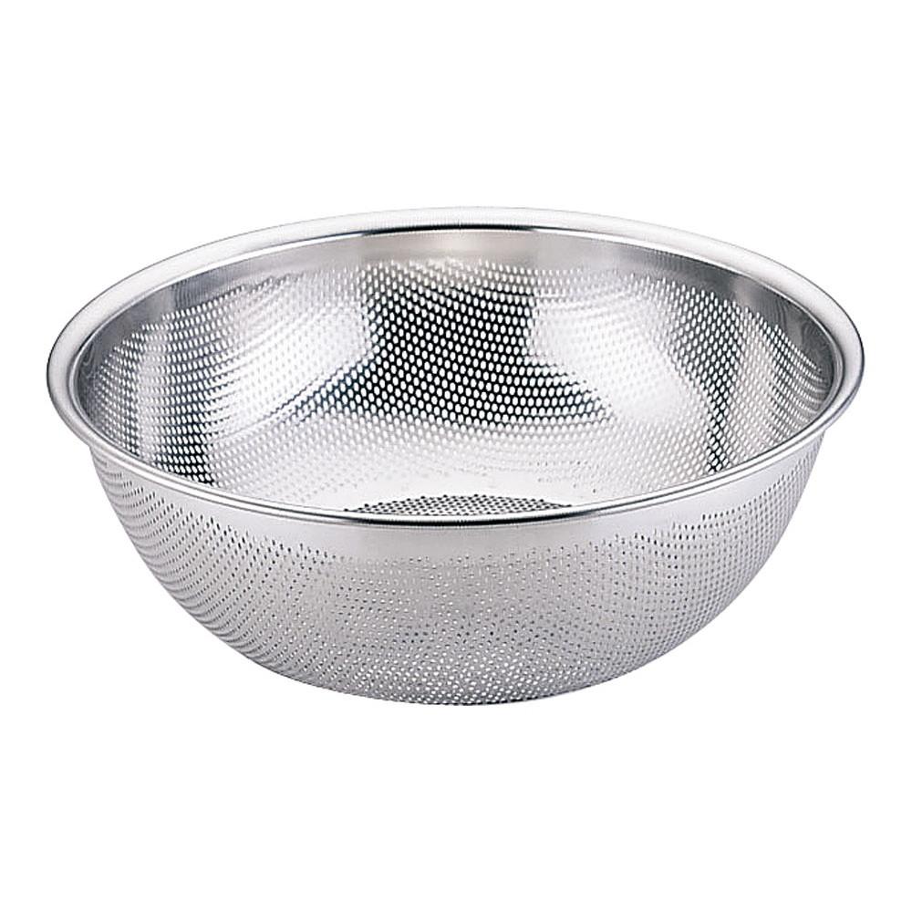 18-8 HACCPパンチング浅型ざる 33cm [ 外径:355 x H140mm ] [ 調理器具 ] | 厨房用品 飲食店 キッチン 料理道具 業務用