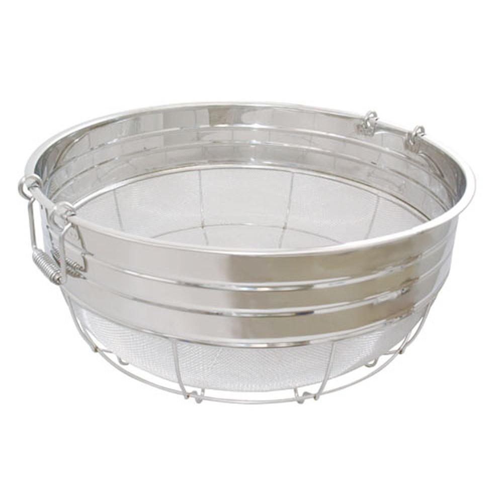 18-8広巾ざる(11メッシュ) 70cm(取手付) [ 外径:700 x H290mm ] [ 調理器具 ] | 厨房用品 飲食店 キッチン 料理道具 業務用