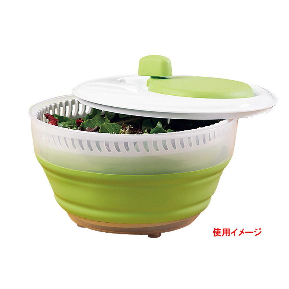 プログレッシヴ 折りたたみサラダスピナー CSS-2 [ 直径:240 x H150mm ] [ 調理器具 ] | 厨房用品 飲食店 キッチン 料理道具 業務用