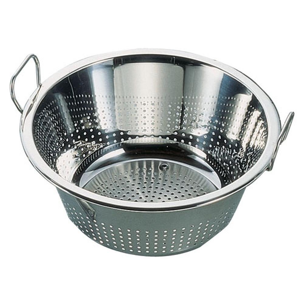 レズレー 18-10コランダーボール 23120 [ 外径:397mm 内径:357 x 深さ:158mm ] [ 調理器具 ]   厨房用品 飲食店 キッチン 料理道具 業務用