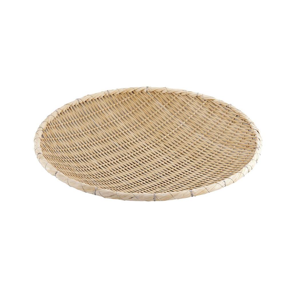 竹製藤巻タメザル 54cm [ 外径:540 x 深さ:80mm ] [ 調理器具 ] | 厨房用品 飲食店 キッチン 料理道具 業務用