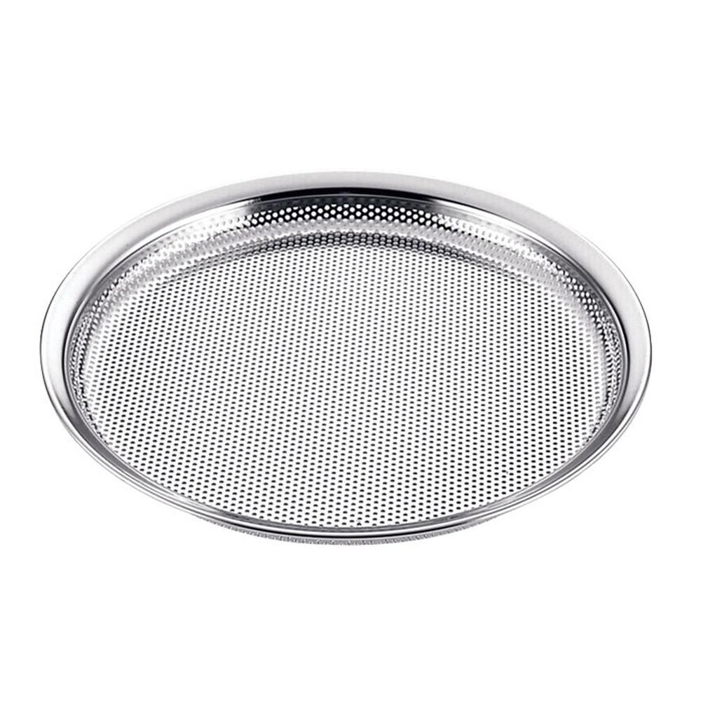 18-8 HACCPパンチングそばざる 30cm [ 外径:320 x 深さ:18mm ] [ 調理器具 ] | 厨房用品 飲食店 キッチン 料理道具 業務用